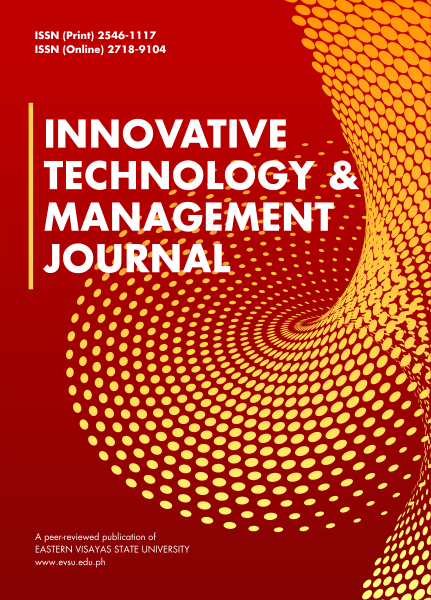 Innovative Technology & Management Journal (ITMJ)